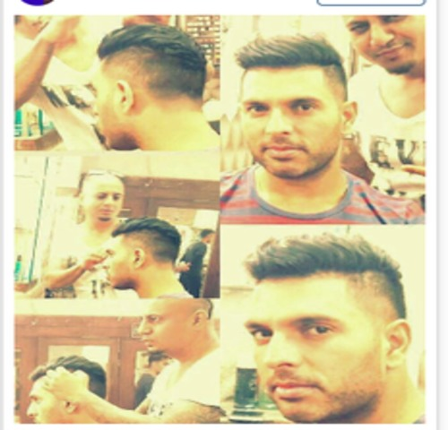 yuvraj-singh-got-new-haircut-niharonline